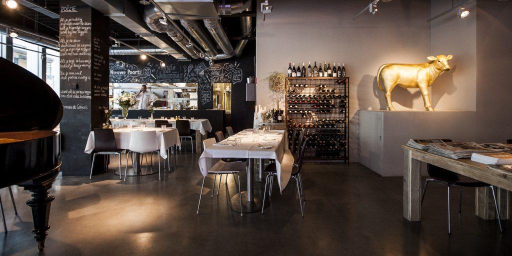 restaurant De Nieuwe Poort Zuidas