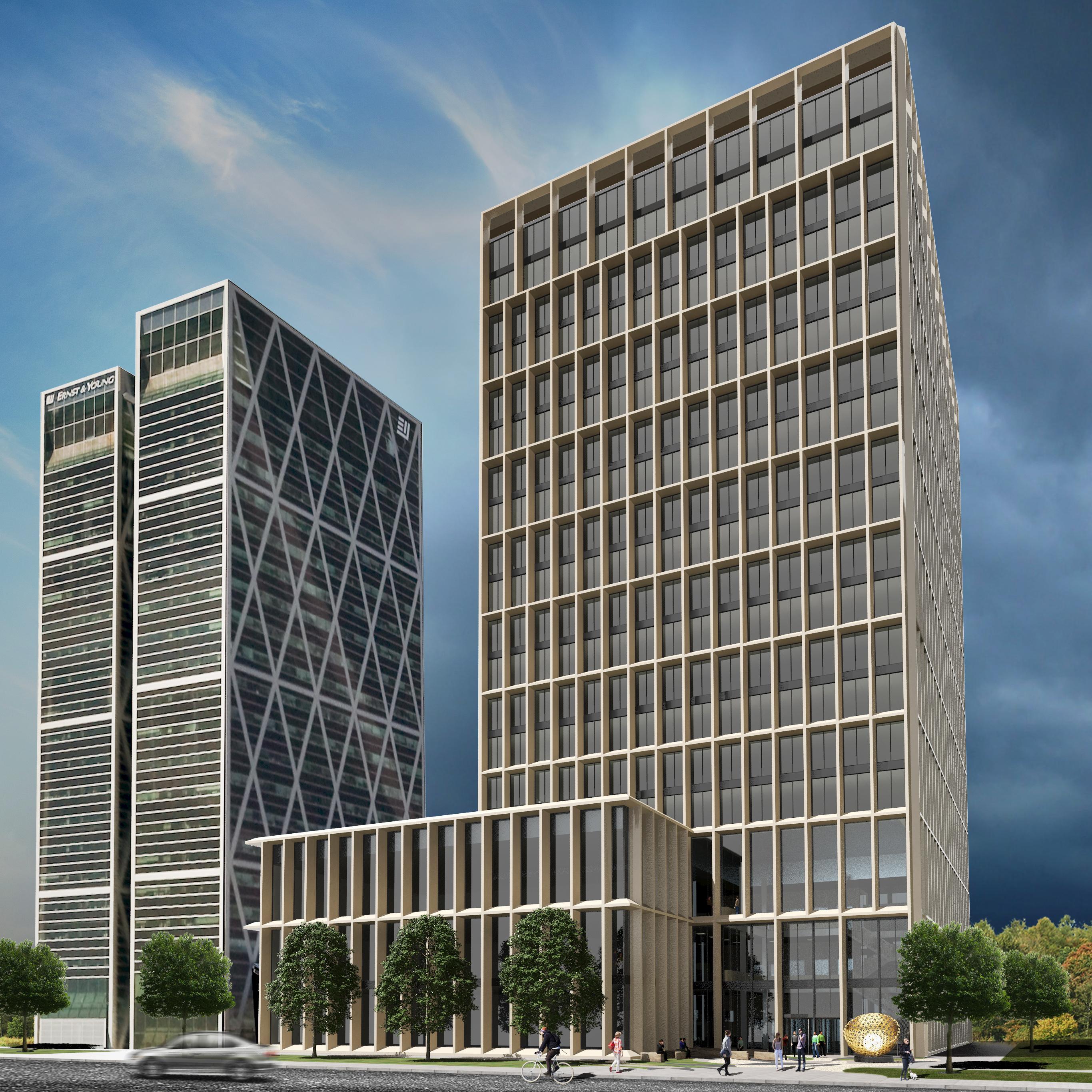 Nieuwe EMA gebouw Zuidas