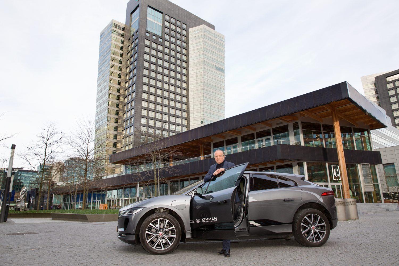Floris Wyers over de Jaguar I-Pace: 'Wat betreft luxe is de auto echt zeer compleet aangekleed.'