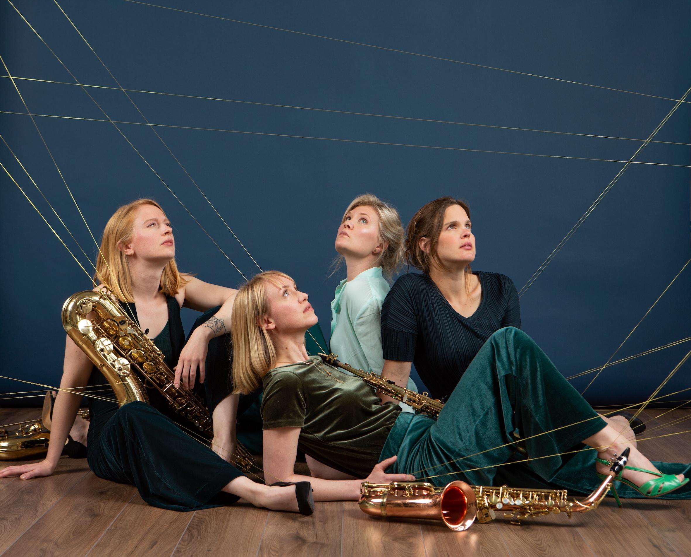 Syrène Saxophone quartet. Foto: Heidi de Gier