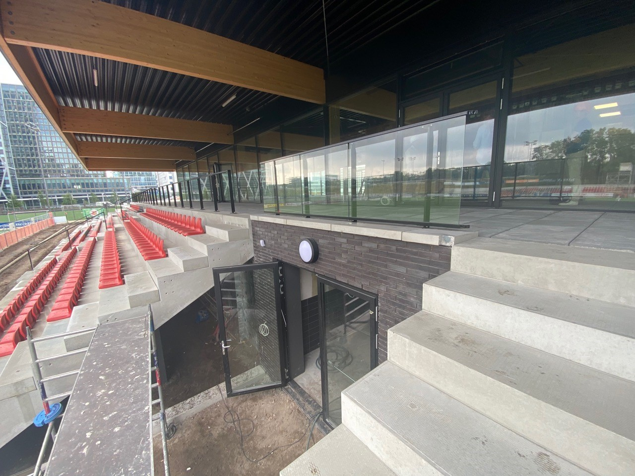 Nieuwe clubhuis AFC