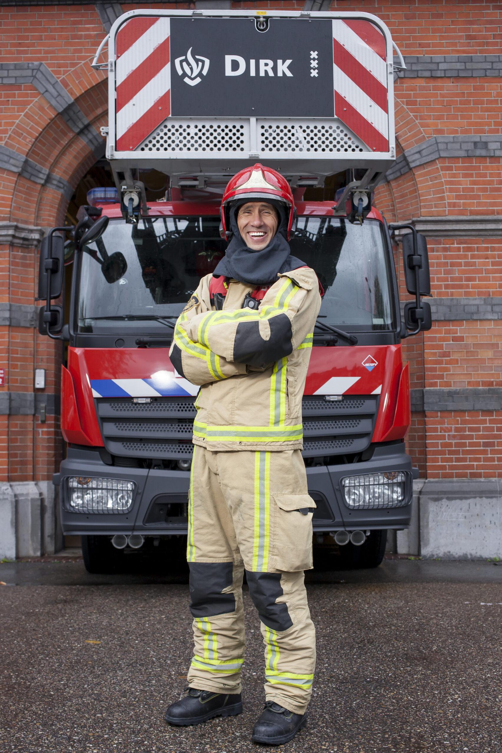Peter Westerbeek, bevelvoeder van Kazerne Dirk Amsterdam/Amstelland